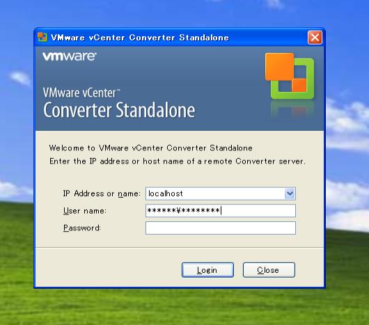 VMware vCenter Converter画面_変